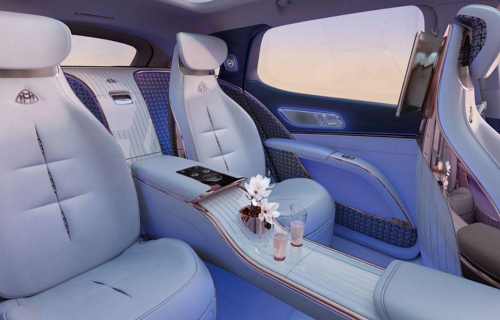 Conceptul Mercedes-Maybach EQS SUV anunță un viitor SUV de lux cu zero emisii. Debutează în 2023 - Poza 7