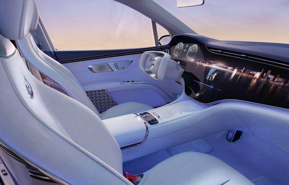Conceptul Mercedes-Maybach EQS SUV anunță un viitor SUV de lux cu zero emisii. Debutează în 2023 - Poza 6