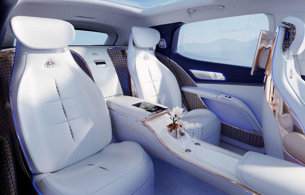 Conceptul Mercedes-Maybach EQS SUV anunță un viitor SUV de lux cu zero emisii. Debutează în 2023 - Poza 8