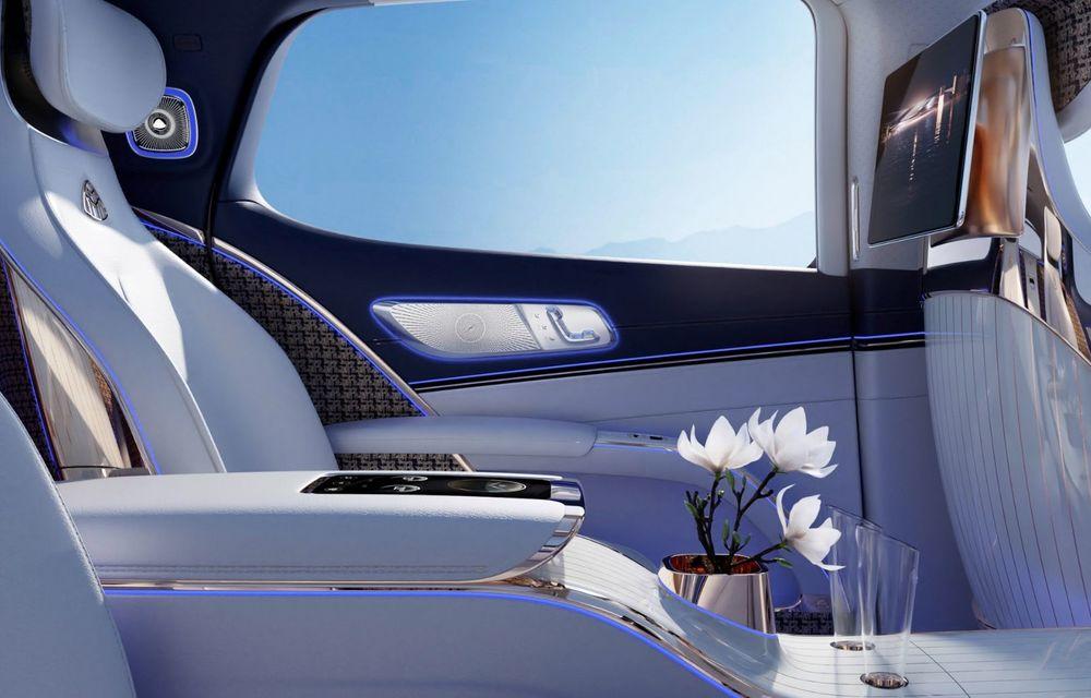 Conceptul Mercedes-Maybach EQS SUV anunță un viitor SUV de lux cu zero emisii. Debutează în 2023 - Poza 9