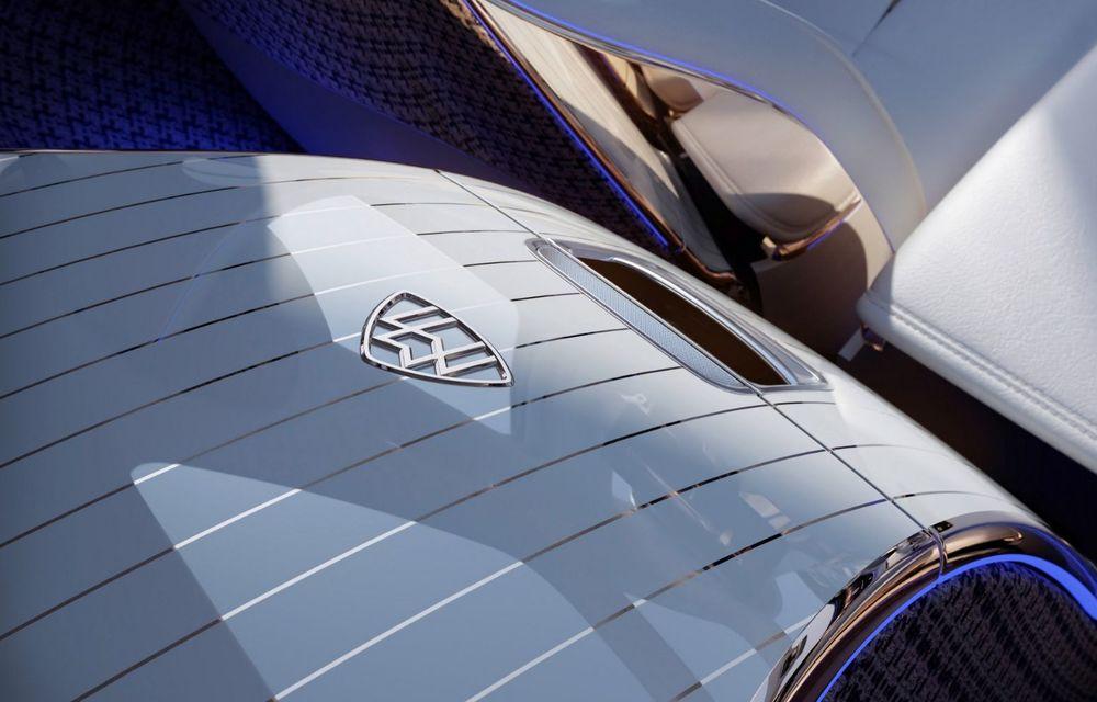 Conceptul Mercedes-Maybach EQS SUV anunță un viitor SUV de lux cu zero emisii. Debutează în 2023 - Poza 10