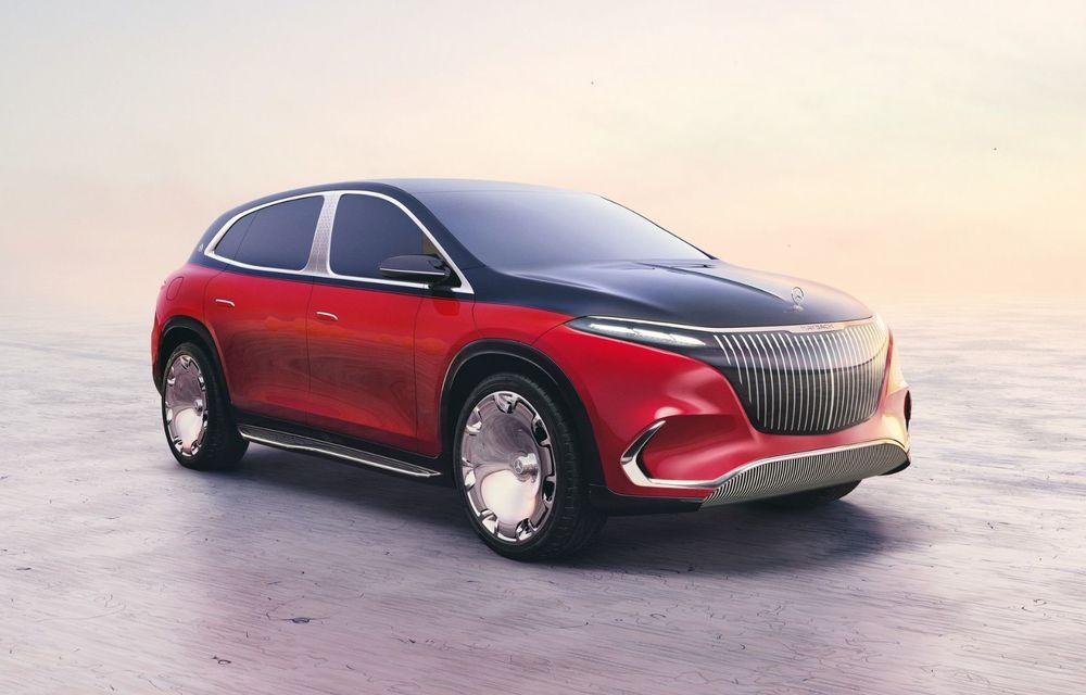 Conceptul Mercedes-Maybach EQS SUV anunță un viitor SUV de lux cu zero emisii. Debutează în 2023 - Poza 1
