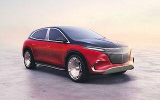 Conceptul Mercedes-Maybach EQS SUV anunță un viitor SUV de lux cu zero emisii. Debutează în 2023