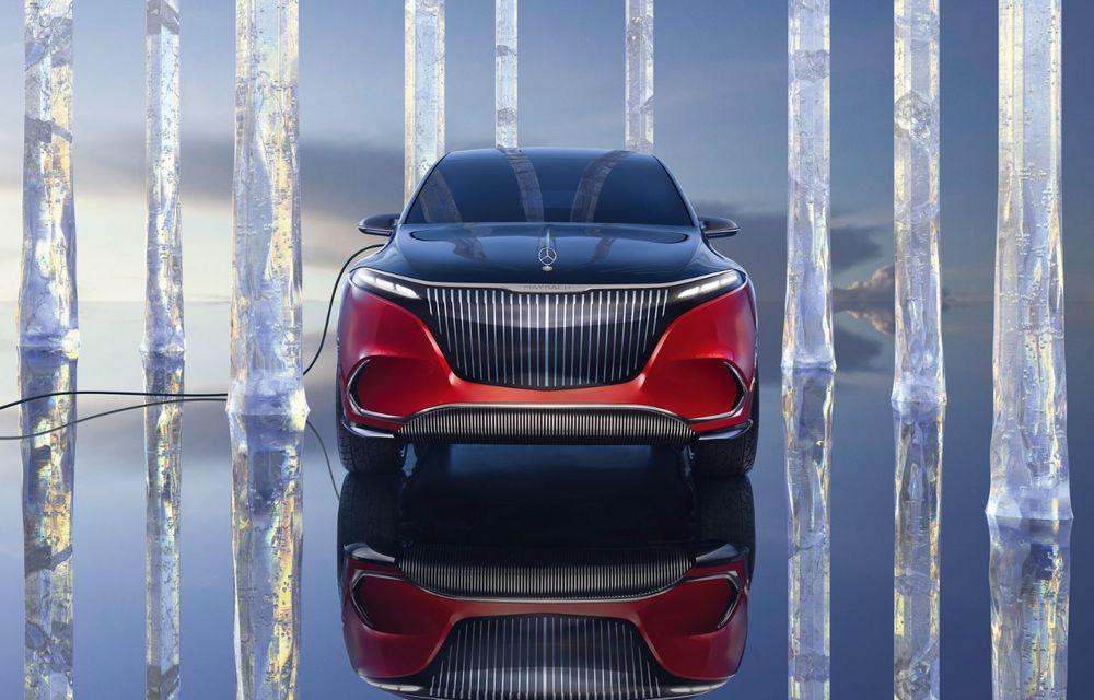 Conceptul Mercedes-Maybach EQS SUV anunță un viitor SUV de lux cu zero emisii. Debutează în 2023 - Poza 3