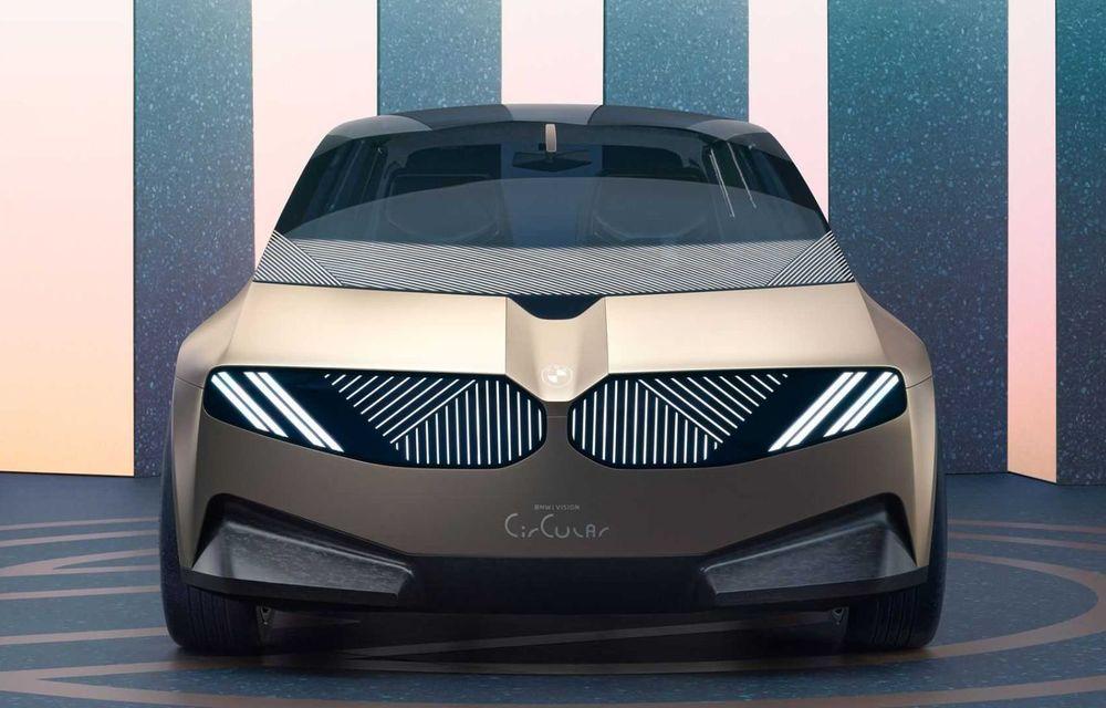 OFICIAL: BMW lansează i Vision Circular, un concept 100% reciclabil - Poza 2