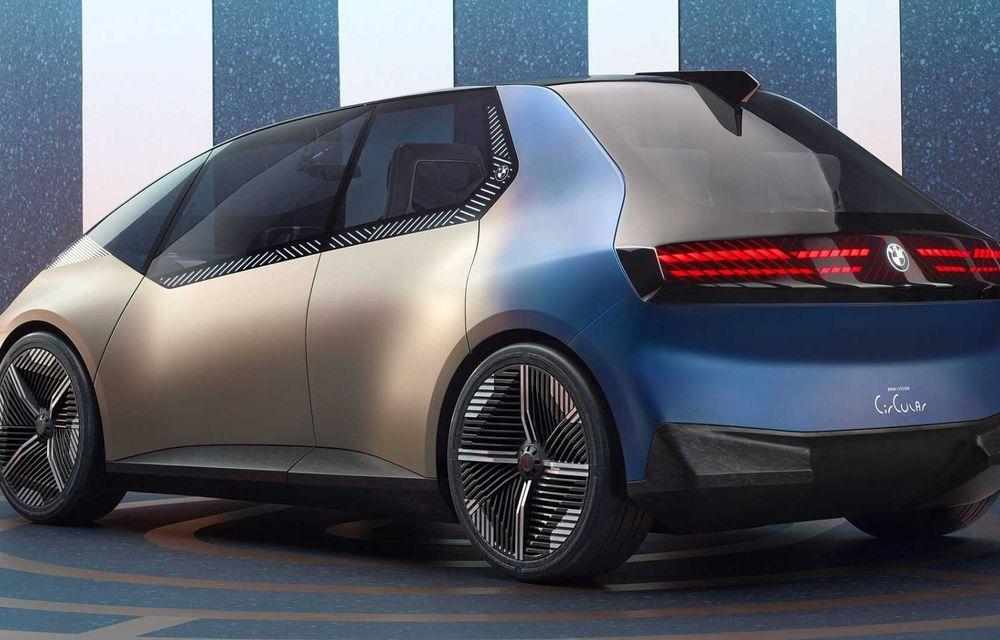 OFICIAL: BMW lansează i Vision Circular, un concept 100% reciclabil - Poza 8