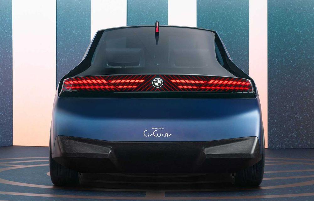 OFICIAL: BMW lansează i Vision Circular, un concept 100% reciclabil - Poza 6