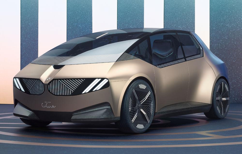 OFICIAL: BMW lansează i Vision Circular, un concept 100% reciclabil - Poza 1