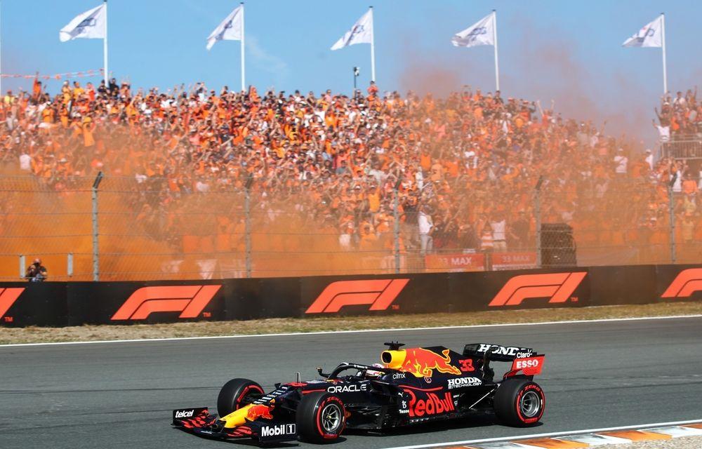 Max Verstappen, victorie pe circuitul de casă de la Zandvoort în fața unui public dezlănțuit - Poza 1