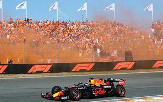 Max Verstappen, victorie pe circuitul de casă de la Zandvoort în fața unui public dezlănțuit
