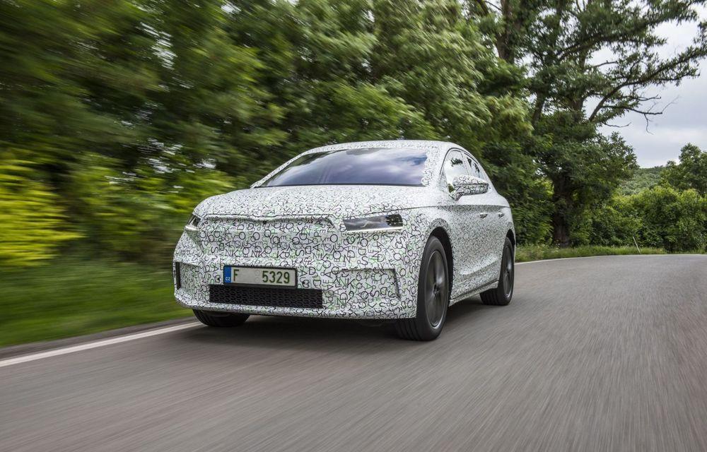 Skoda pregătește o versiune coupe pentru SUV-ul electric Enyaq: autonomie de peste 535 de kilometri - Poza 3