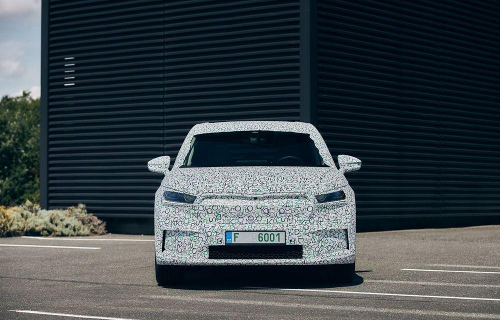 Skoda pregătește o versiune coupe pentru SUV-ul electric Enyaq: autonomie de peste 535 de kilometri - Poza 6
