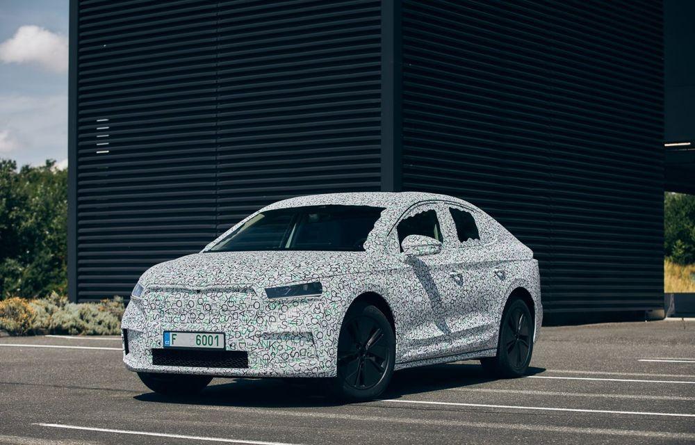 Skoda pregătește o versiune coupe pentru SUV-ul electric Enyaq: autonomie de peste 535 de kilometri - Poza 7