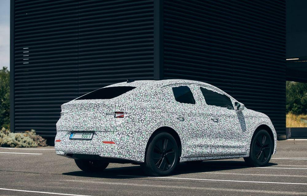 Skoda pregătește o versiune coupe pentru SUV-ul electric Enyaq: autonomie de peste 535 de kilometri - Poza 9
