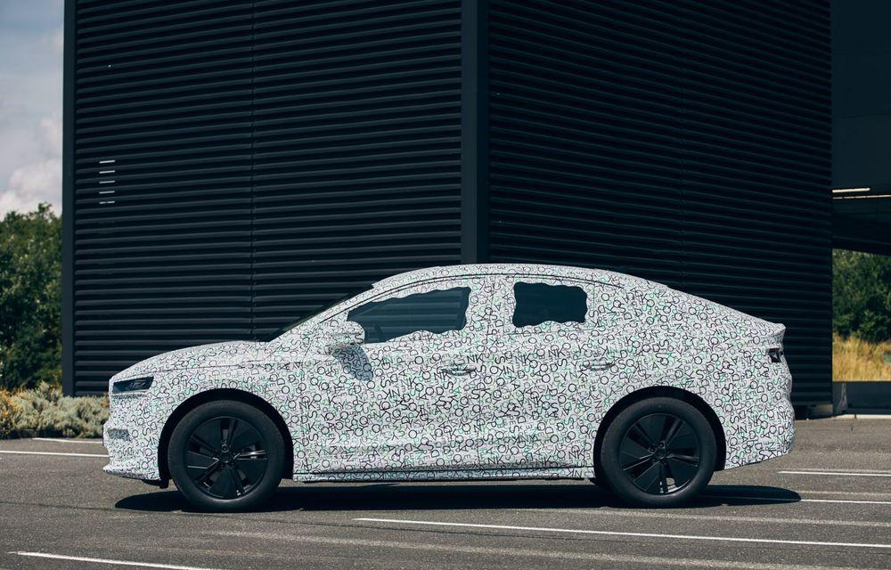 Skoda pregătește o versiune coupe pentru SUV-ul electric Enyaq: autonomie de peste 535 de kilometri - Poza 10