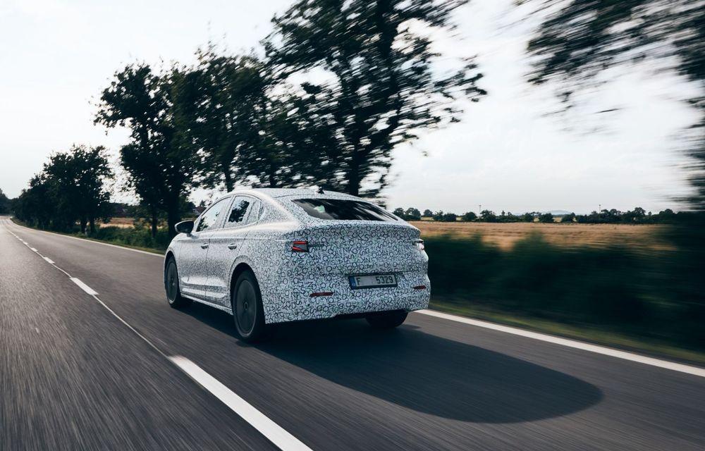 Skoda pregătește o versiune coupe pentru SUV-ul electric Enyaq: autonomie de peste 535 de kilometri - Poza 11