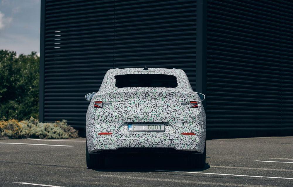 Skoda pregătește o versiune coupe pentru SUV-ul electric Enyaq: autonomie de peste 535 de kilometri - Poza 12