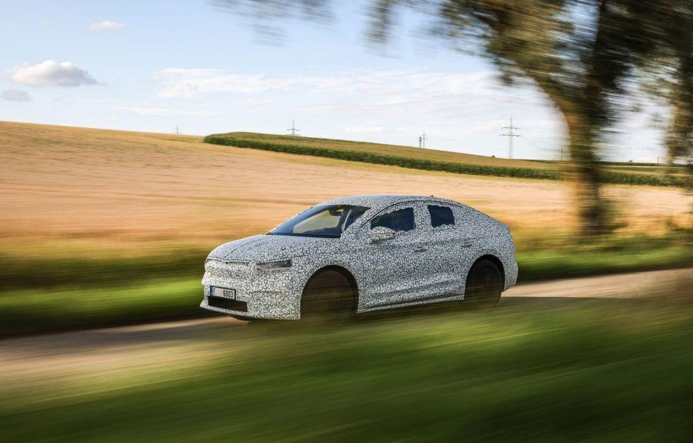 Skoda pregătește o versiune coupe pentru SUV-ul electric Enyaq: autonomie de peste 535 de kilometri - Poza 14