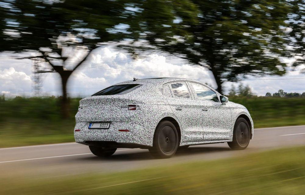 Skoda pregătește o versiune coupe pentru SUV-ul electric Enyaq: autonomie de peste 535 de kilometri - Poza 15
