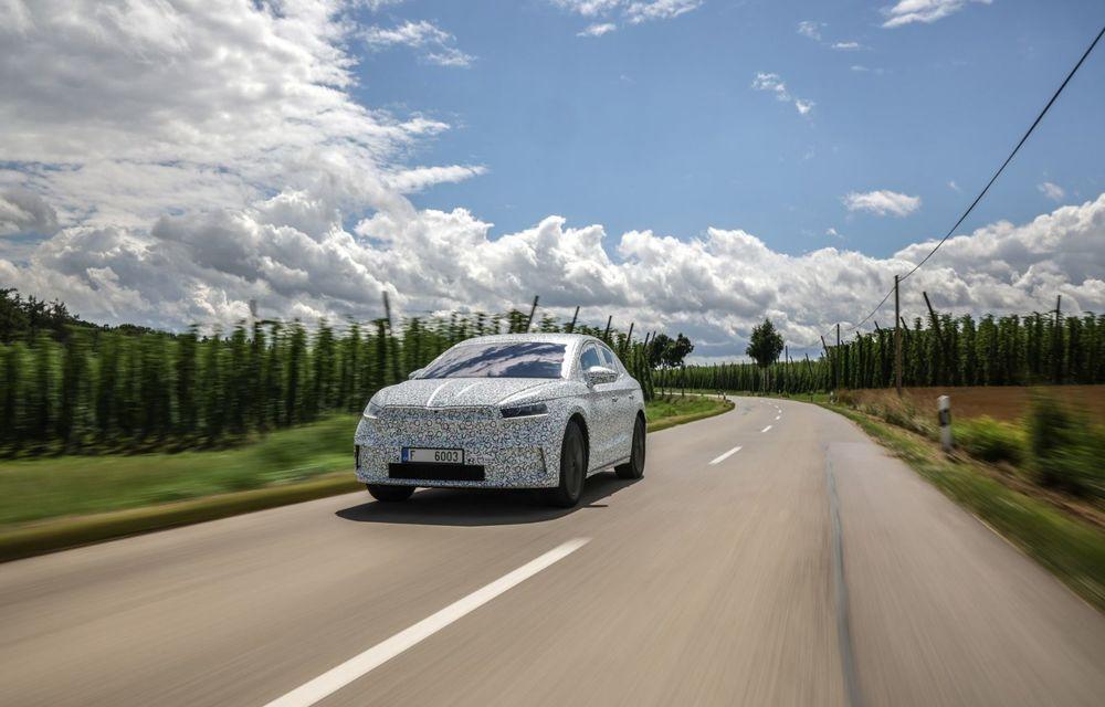 Skoda pregătește o versiune coupe pentru SUV-ul electric Enyaq: autonomie de peste 535 de kilometri - Poza 16