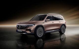 Mercedes-Benz EQB, destinat publicului european: până la 292 CP și versiune cu 7 locuri