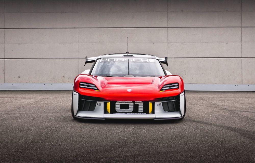 Conceptul electric Porsche Mission R: până la 1.088 CP și 0-100 km/h în 2.5 secunde - Poza 2