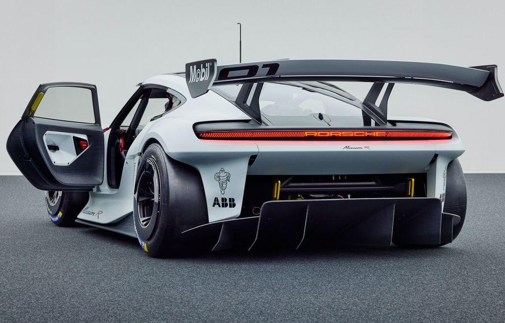 Conceptul electric Porsche Mission R: până la 1.088 CP și 0-100 km/h în 2.5 secunde - Poza 5
