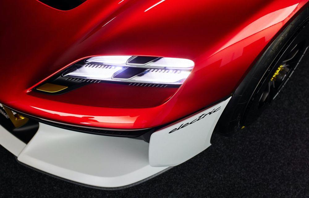 Conceptul electric Porsche Mission R: până la 1.088 CP și 0-100 km/h în 2.5 secunde - Poza 19