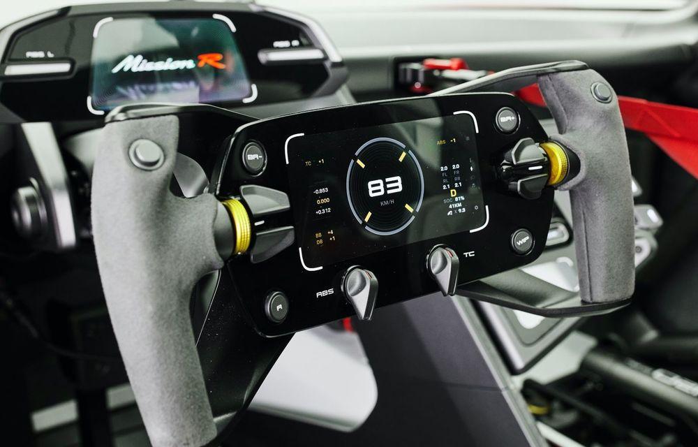 Conceptul electric Porsche Mission R: până la 1.088 CP și 0-100 km/h în 2.5 secunde - Poza 12