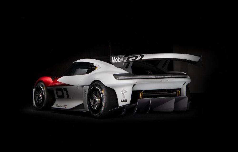 Conceptul electric Porsche Mission R: până la 1.088 CP și 0-100 km/h în 2.5 secunde - Poza 11