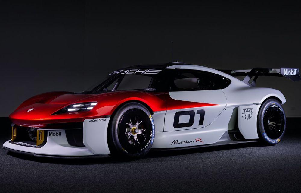 Conceptul electric Porsche Mission R: până la 1.088 CP și 0-100 km/h în 2.5 secunde - Poza 7