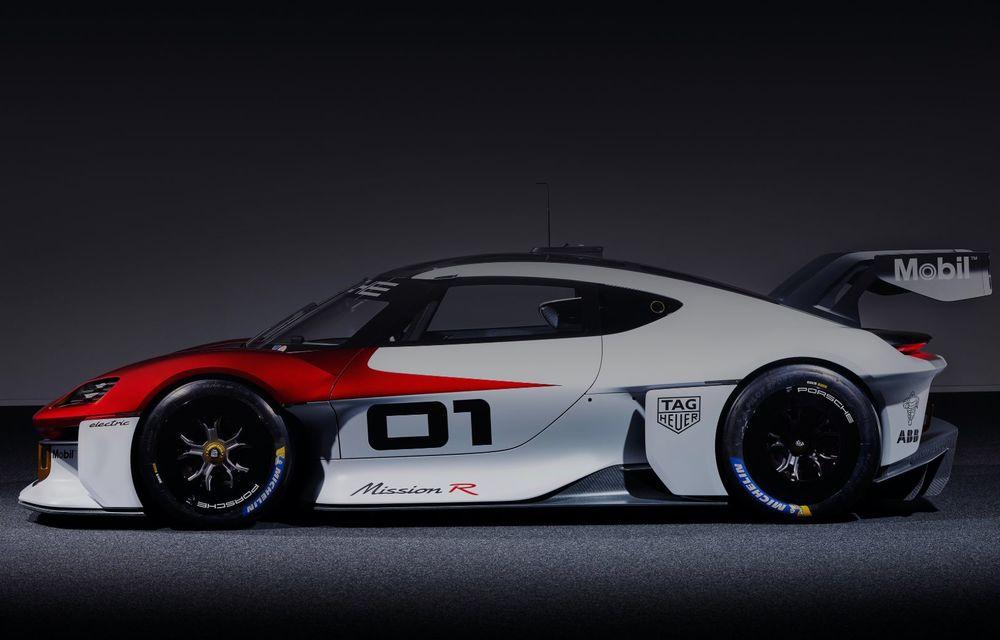 Conceptul electric Porsche Mission R: până la 1.088 CP și 0-100 km/h în 2.5 secunde - Poza 8