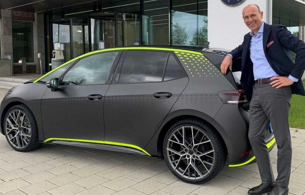 Conceptul Volkswagen ID.X va da naștere unui hot hatch electric de serie - Poza 1