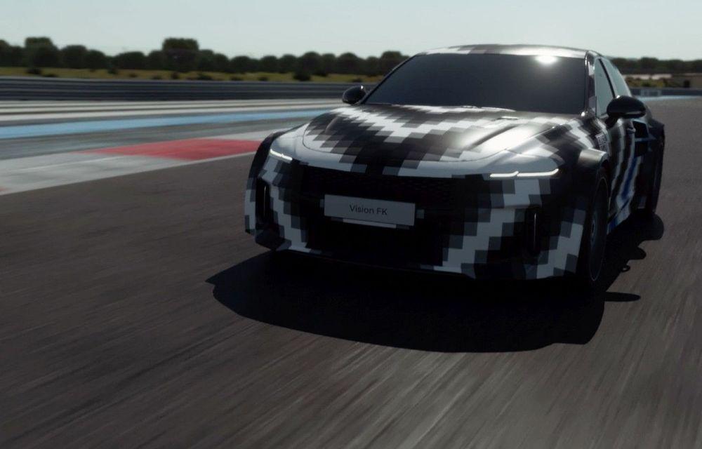 Hyundai cochetează cu hidrogenul: conceptul Vision FK are 680 CP și autonomie de 600 km - Poza 1