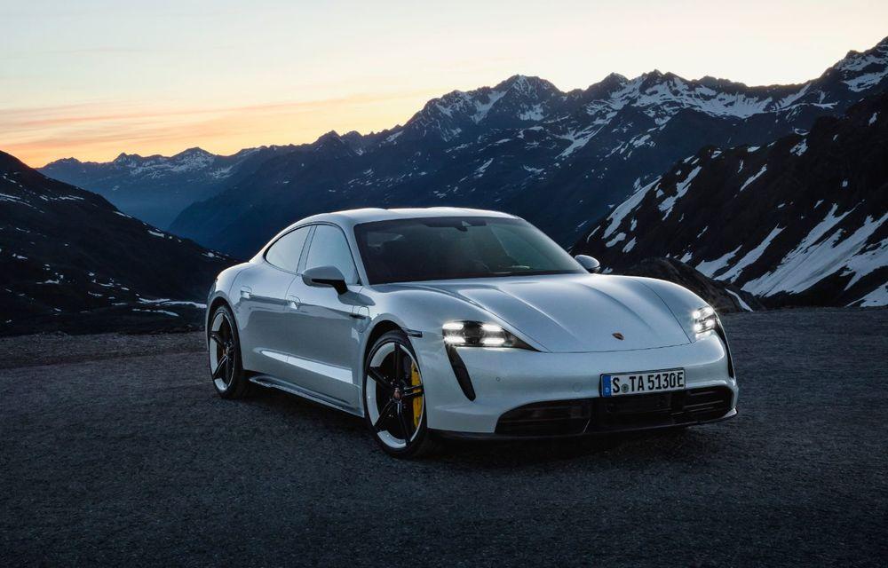 Porsche a vândut toată producția Taycan pentru 2021 în doar 6 luni - Poza 1