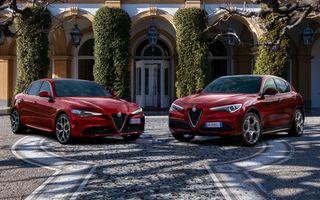 """Alfa Romeo lansează ediția limitată """"6C Villa d'Este"""" pentru Giulia și Stelvio"""