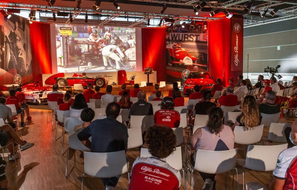 Monoposturile Alfa Romeo vor avea o grafică specială pentru Marele Premiu de Formula 1 al Italiei - Poza 7