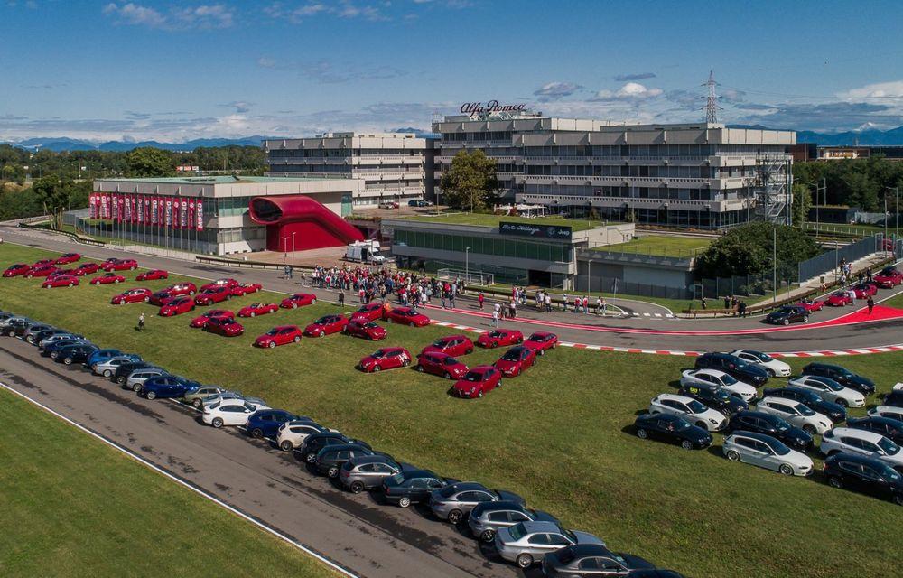 Monoposturile Alfa Romeo vor avea o grafică specială pentru Marele Premiu de Formula 1 al Italiei - Poza 6