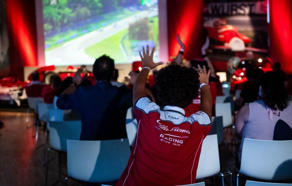 Monoposturile Alfa Romeo vor avea o grafică specială pentru Marele Premiu de Formula 1 al Italiei - Poza 8