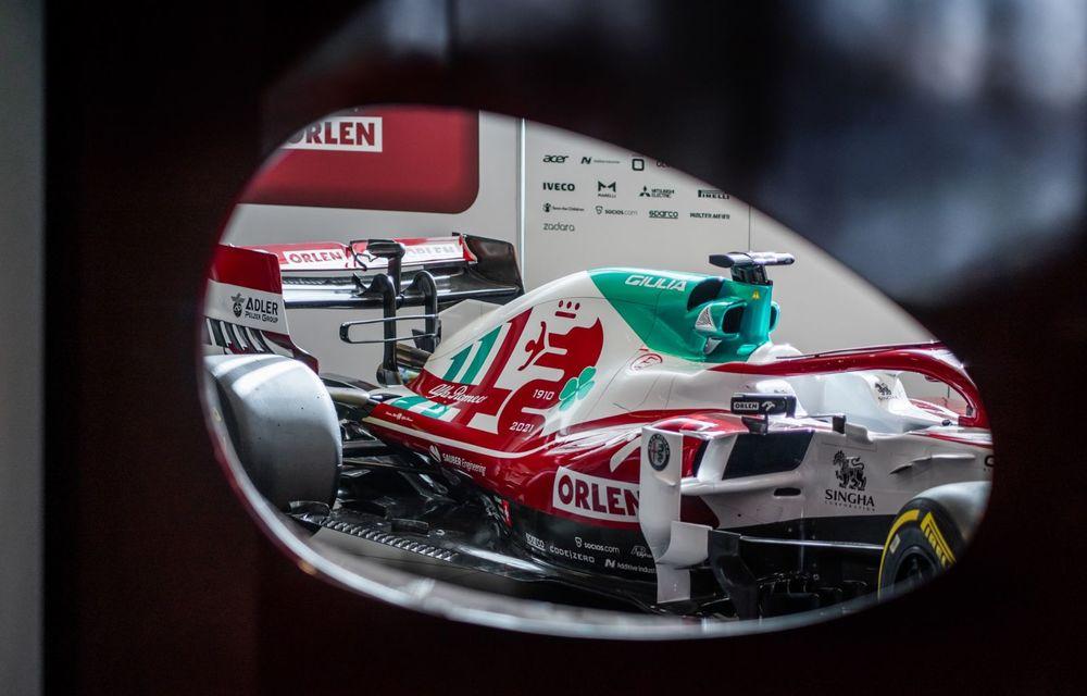 Monoposturile Alfa Romeo vor avea o grafică specială pentru Marele Premiu de Formula 1 al Italiei - Poza 5