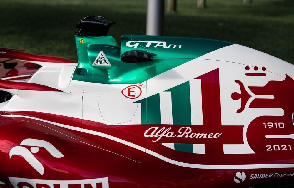 Monoposturile Alfa Romeo vor avea o grafică specială pentru Marele Premiu de Formula 1 al Italiei - Poza 4