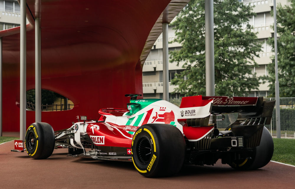 Monoposturile Alfa Romeo vor avea o grafică specială pentru Marele Premiu de Formula 1 al Italiei - Poza 1