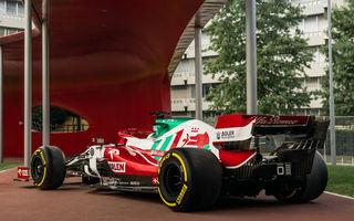 Monoposturile Alfa Romeo vor avea o grafică specială pentru Marele Premiu de Formula 1 al Italiei