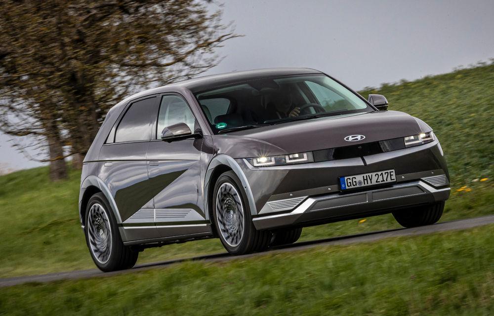 Hyundai Ioniq 5 poate fi văzut pentru prima dată în România în acest weekend - Poza 1