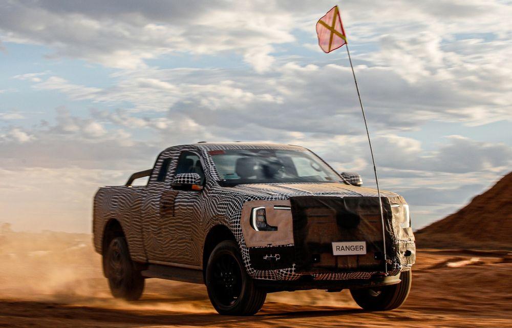 """Primele teasere cu viitorul Ford Ranger: """"Va fi cel mai capabil Ranger de până acum"""" - Poza 1"""