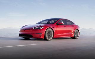 Tesla Model S Plaid a devenit cea mai rapidă electrică de serie de pe Nurburguring