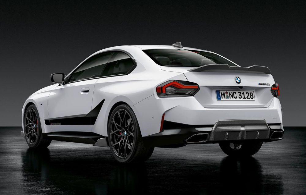 Noul BMW Seria 2 Coupe primește o serie de accesorii M Performance - Poza 2