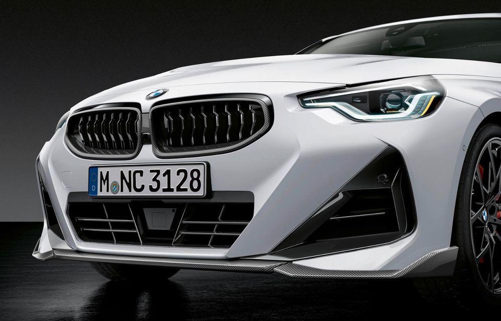 Noul BMW Seria 2 Coupe primește o serie de accesorii M Performance - Poza 3