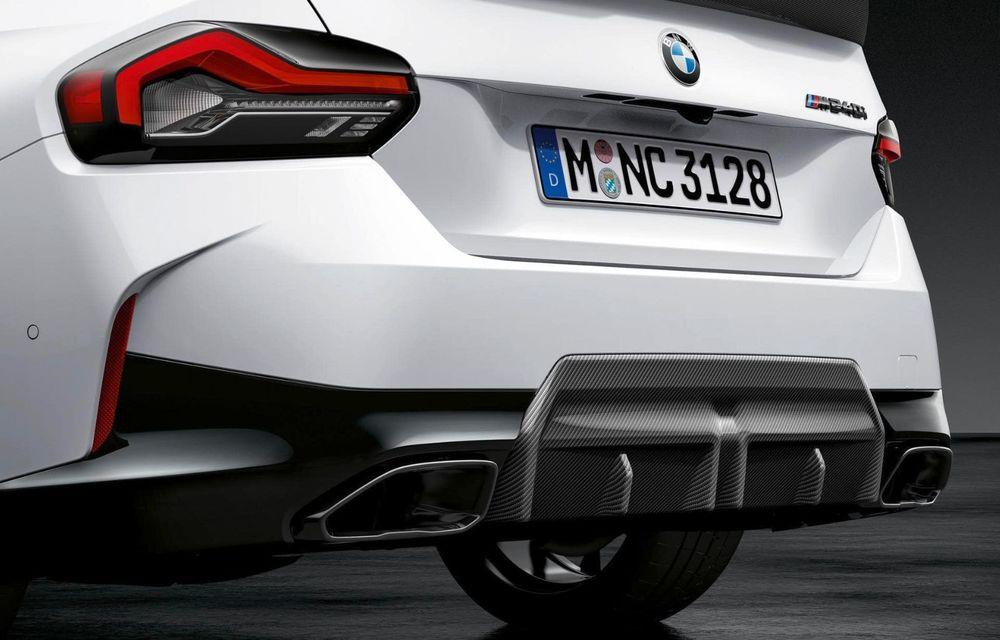 Noul BMW Seria 2 Coupe primește o serie de accesorii M Performance - Poza 11