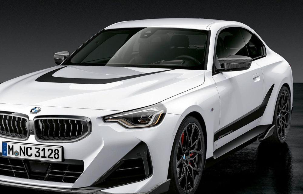 Noul BMW Seria 2 Coupe primește o serie de accesorii M Performance - Poza 5